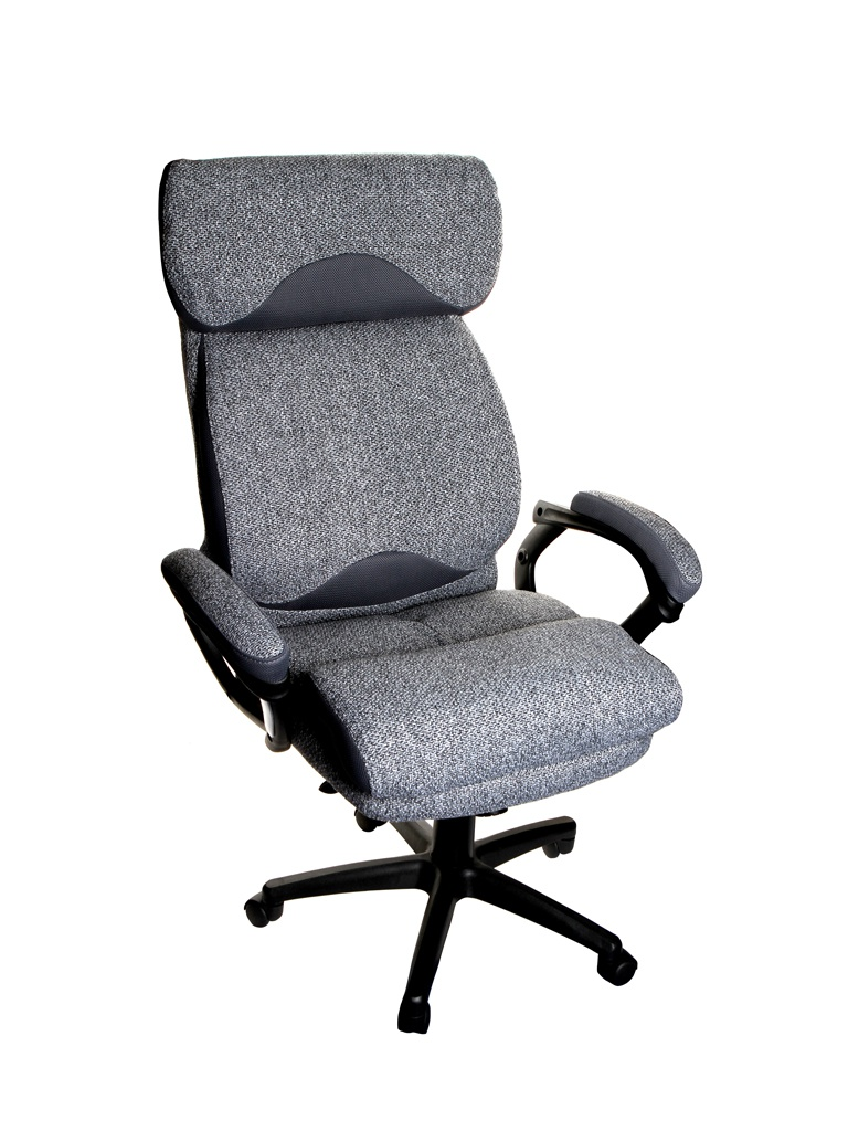 Компьютерное кресло TetChair Duke ткань Grey-Grey 12442