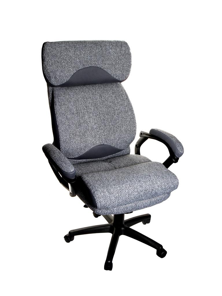 Компьютерное кресло TetChair Duke ткань Grey-Grey М-24/12 12442