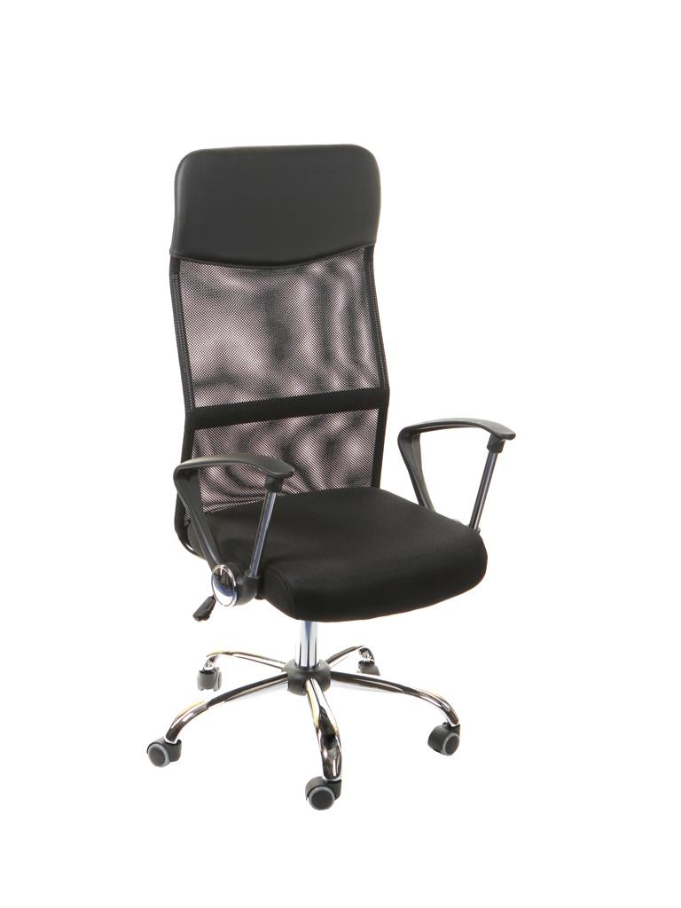 Компьютерное кресло TetChair Practic искусственная кожа, ткань Black 12727