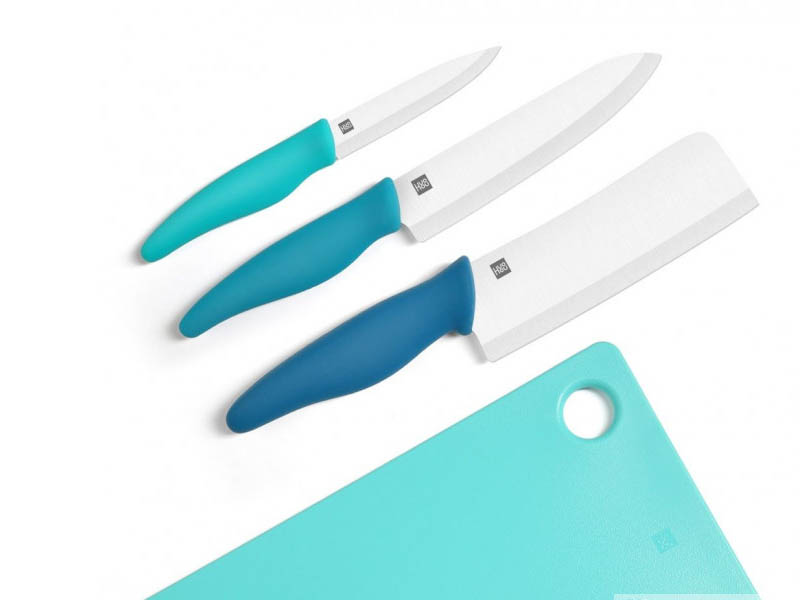 Фото - Набор ножей c разделочной доской Xiaomi Huohou Ceramic Knife Chopping Block Kit kingduble knb a6 6 chic zirconia ceramic knife w abs plastic handle white