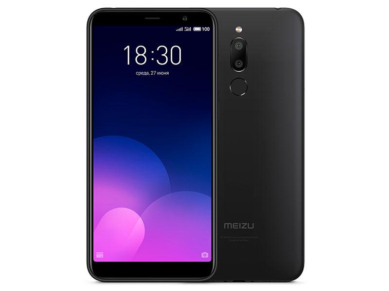 Сотовый телефон Meizu M6T 16Gb Black Выгодный набор + серт. 200Р!!! сотовый