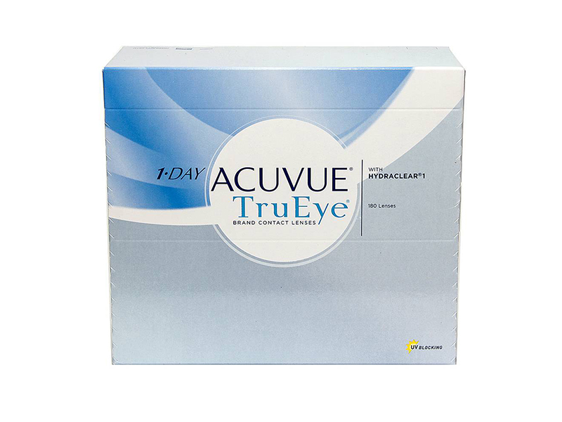 Контактные линзы Johnson & 1-Day Acuvue TruEye (180 линз / 8.5 -0.5)