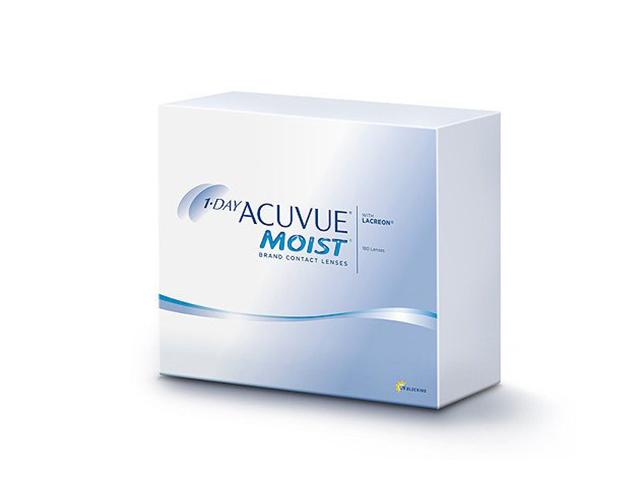 Контактные линзы Johnson & Johnson 1-Day Acuvue Moist (180 линз / 8.5 / -1) контактные линзы johnsonjohnson 1 day acuvue moist 30 шт r 9 d 8 0