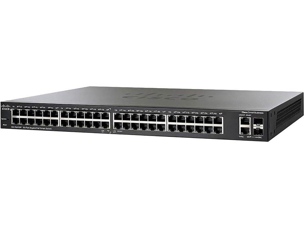 Коммутатор Cisco SB SG250-50