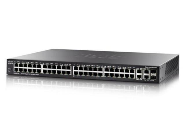 Коммутатор Cisco SB SG350-52P