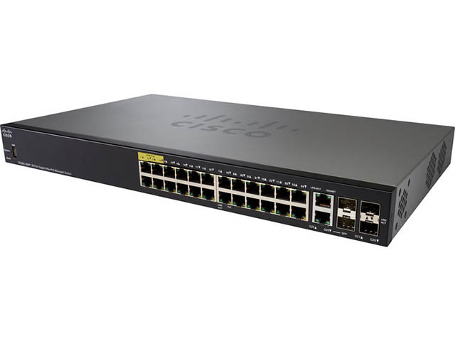Коммутатор Cisco SB SG350-28MP