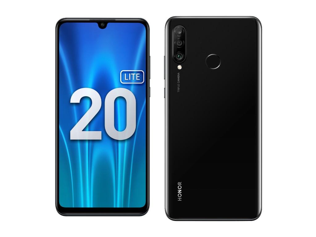 Сотовый телефон Honor 20 Lite 4/128GB (RU) Midnight Black
