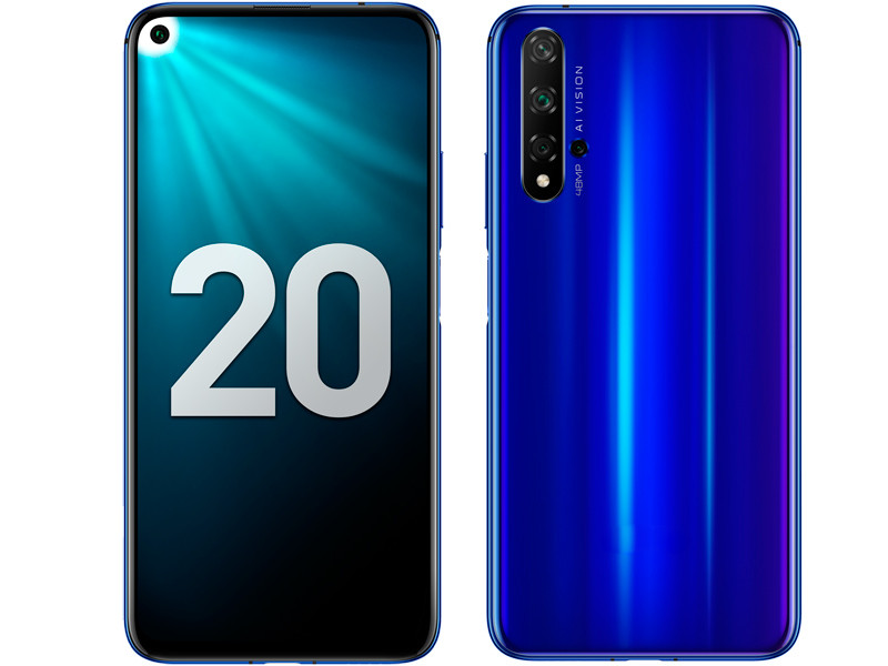 Сотовый телефон Honor 20 6/128GB Blue