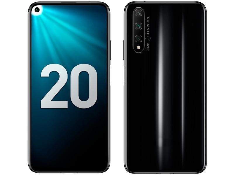 Сотовый телефон Honor 20 6/128GB Black