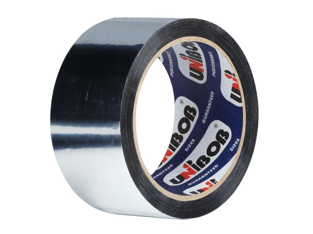 Клейкая лента Unibob Металлизировнная 48mm x 40m 39118