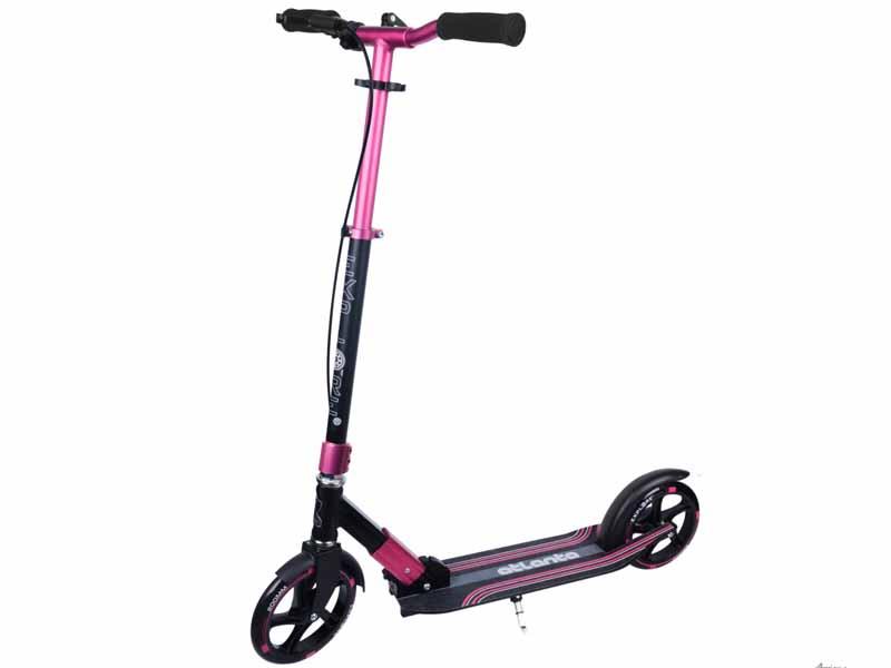 Самокат Explore Atlanta Pro HS Pink эргорюкзак baby care hs 3183 pink