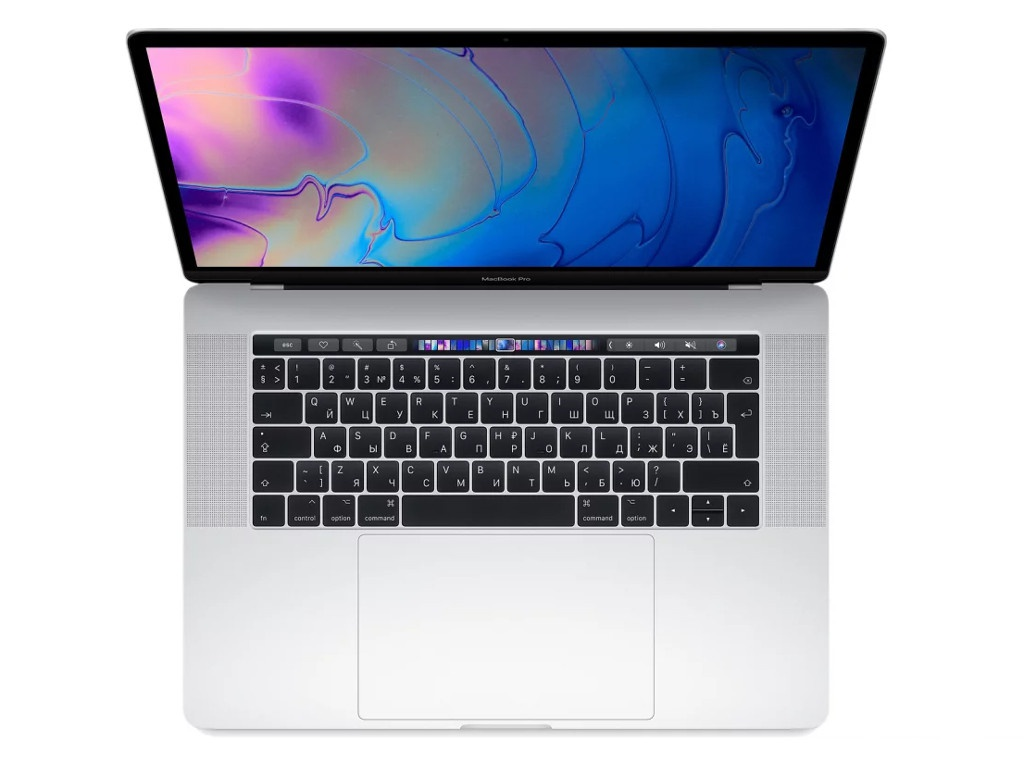 Ноутбук APPLE MacBook Pro 15 2019 MV922RU/A Silver (Intel Core i7 2.6GHz/16384Mb/256Gb/AMD Radeon 555X/Wi-Fi/Bluetooth/Cam/15.4/Mac OS)