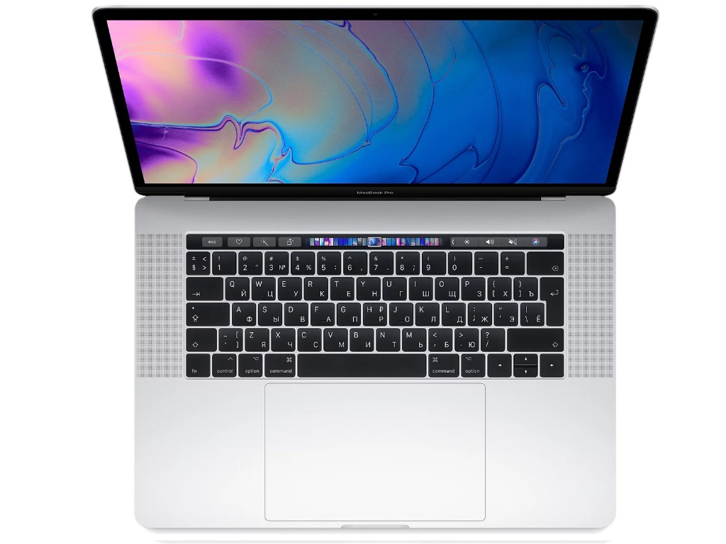 Ноутбук APPLE MacBook Pro 15 2019 MV932RU/A Silver (Intel Core i9 2.3GHz/16384Mb/512Gb/AMD Radeon 560X/Wi-Fi/Bluetooth/Cam/15.4/Mac OS)
