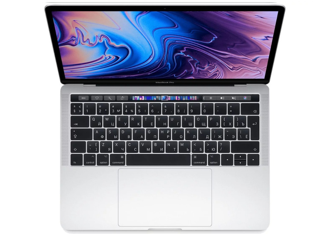 Ноутбук APPLE MacBook Pro 13 2019 MV9A2RU/A Silver (Intel Core i5 2.4GHz/8192Mb/512Gb/Intel HD Graphics/Wi-Fi/Bluetooth/Cam/13.3/Mac OS) ноутбук apple macbook pro mluq2ru a 13 3 retina core i5 6360u 2000mhz 8192mb ssd 256gb intel iris graphics 540 64mb mac os x 10 12 sierra [mluq2ru a]