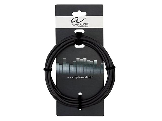 цена на Аксессуар Alpha Audio Basic Line 2xJack 6.3mm - 2xJack 6.3mm 3m 190175