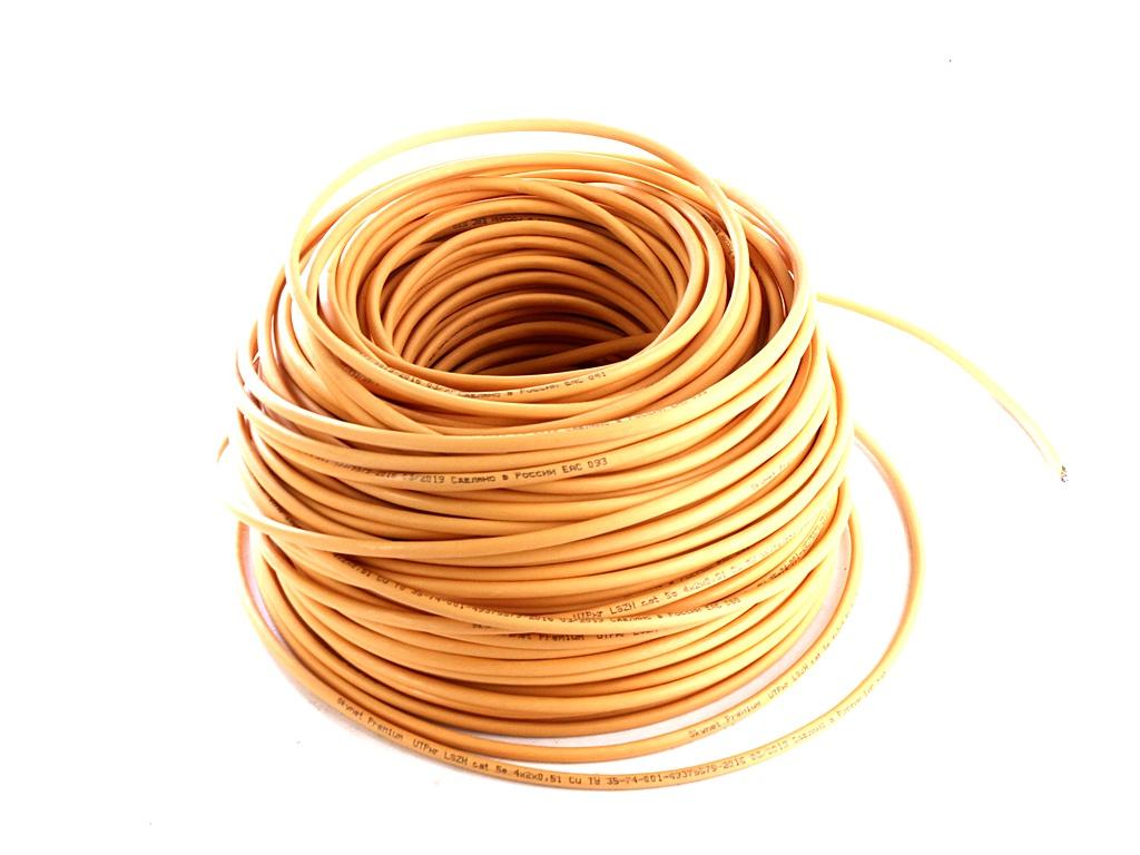 Сетевой кабель SkyNet Premium UTP-LSZH CSP-UTP-LSZH-4-CU/100