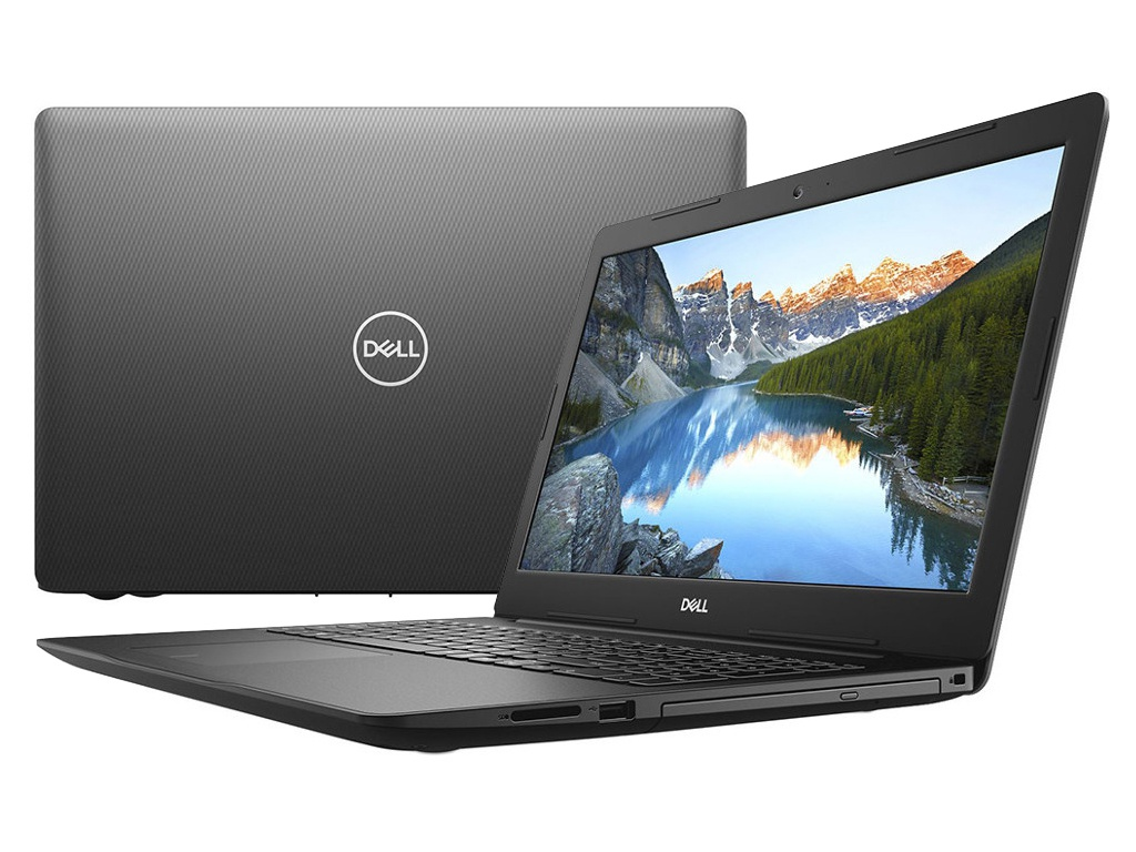 купить Ноутбук Dell Inspiron 3580 Black 3580-6471 (Intel Core i5-8265U 1.6 GHz/4096Mb/1000Gb/DVD-RW/AMD Radeon 520 2048Mb/Wi-Fi/Bluetooth/Cam/15.6/1920x1080/Windows 10) по цене 35988 рублей