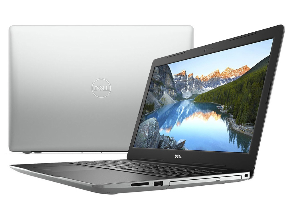 Ноутбук Dell Inspiron 3580 Silver 3580-6488 (Intel Core i5-8265U 1.6 GHz/4096Mb/1000Gb/DVD-RW/AMD Radeon 520 2048Mb/Wi-Fi/Bluetooth/Cam/15.6/1920x1080/Windows 10)