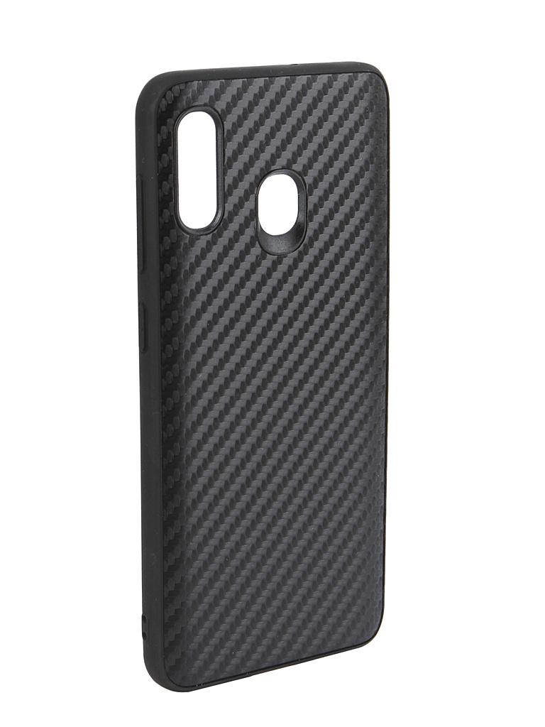 Аксессуар Чехол G-Case для Samsung Galaxy A30 SM-A305F / A20 SM-A205F Carbon Black GG-1054 аксессуар чехол g case для samsung galaxy a10 sm a105f carbon dark blue gg 1106
