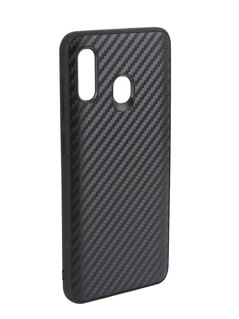 Чехол G-Case для Samsung Galaxy A30 SM-A305F / A20 SM-A205F Carbon Black GG-1054 чехол g case для samsung galaxy a30 sm a305f a20 sm a205f slim premium red gg 1101