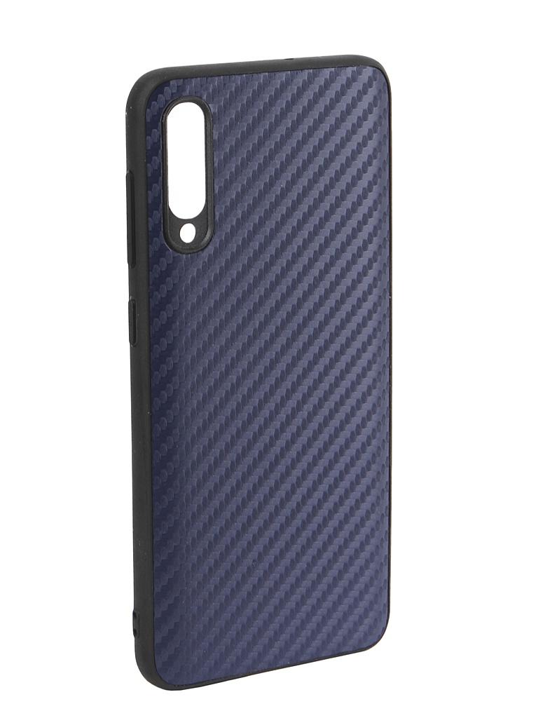 Аксессуар Чехол G-Case для Samsung Galaxy A50 SM-A505F Carbon Dark Blue GG-1058