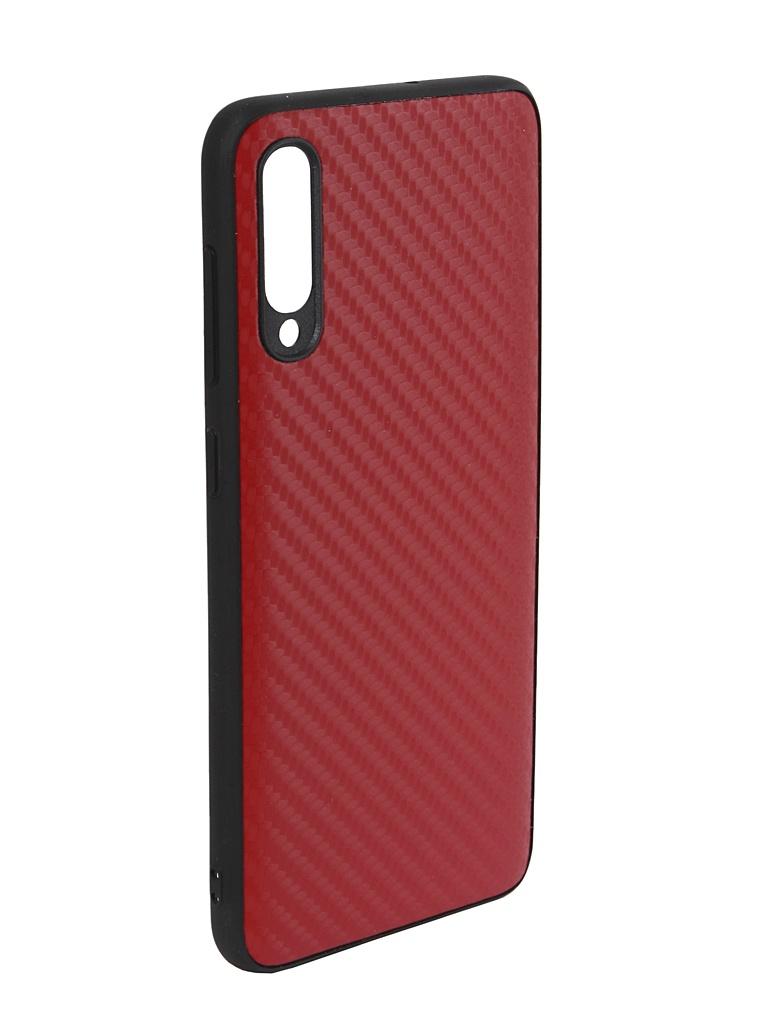 Аксессуар Чехол G-Case для Samsung Galaxy A50 SM-A505F Carbon Red GG-1059 цены