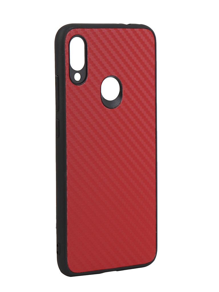 Аксессуар Чехол G-Case для Xiaomi Redmi Note 7 / Pro Carbon Red GG-1053
