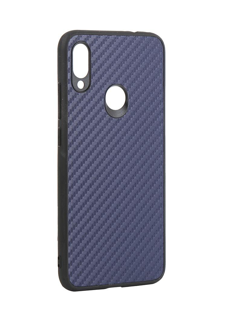 Чехол G-Case для Xiaomi Redmi Note 7 / Pro Carbon Dark Blue GG-1052