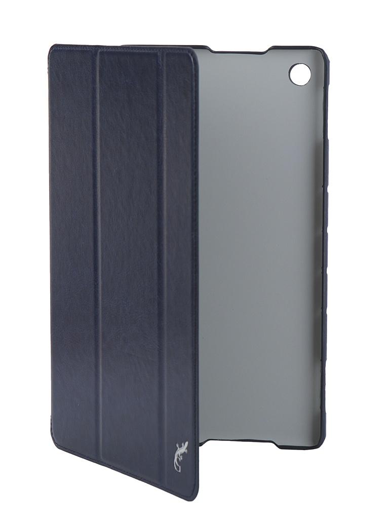 Аксессуар Чехол G-Case для Huawei MediaPad M5 Lite 10 Slim Premium Dark Blue GG-1045