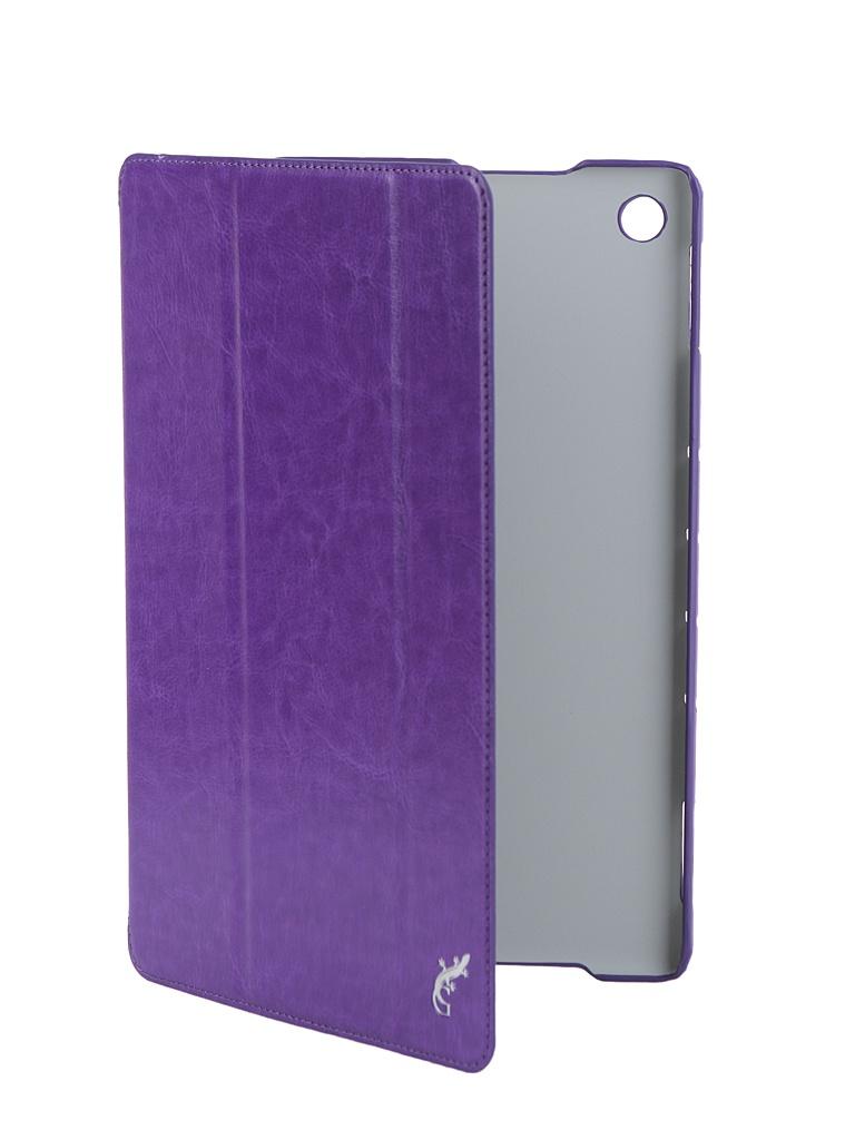Аксессуар Чехол G-Case для Huawei MediaPad M5 Lite 10 Slim Premium Violet GG-1046 очки indigo 108 g violet