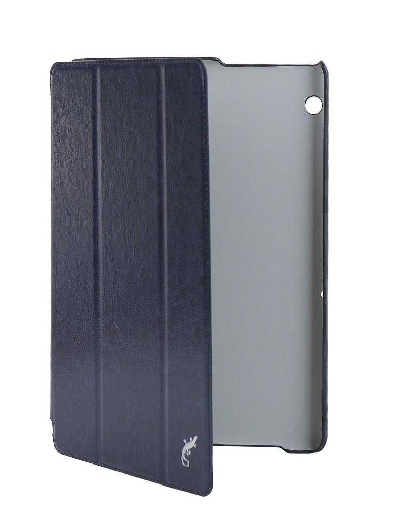 Аксессуар Чехол G-Case для Huawei MediaPad T5 10 Slim Premium Dark Blue GG-1047