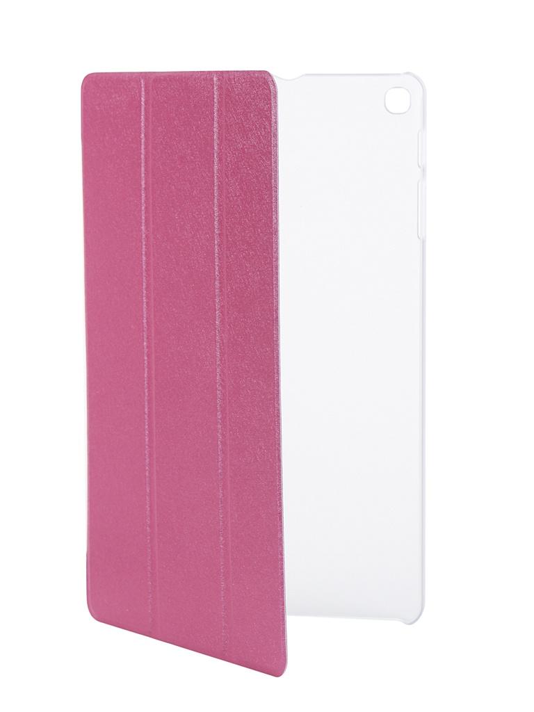 Аксессуар Чехол Zibelino для Samsung Galaxy SM-T515/T510/TAB A 10.1 Tablet Pink ZT-SAM-T515-PNK аксессуар чехол zibelino для samsung sm j730f galaxy j7 2017 cover back elegant grey zcbe sam j730f gry