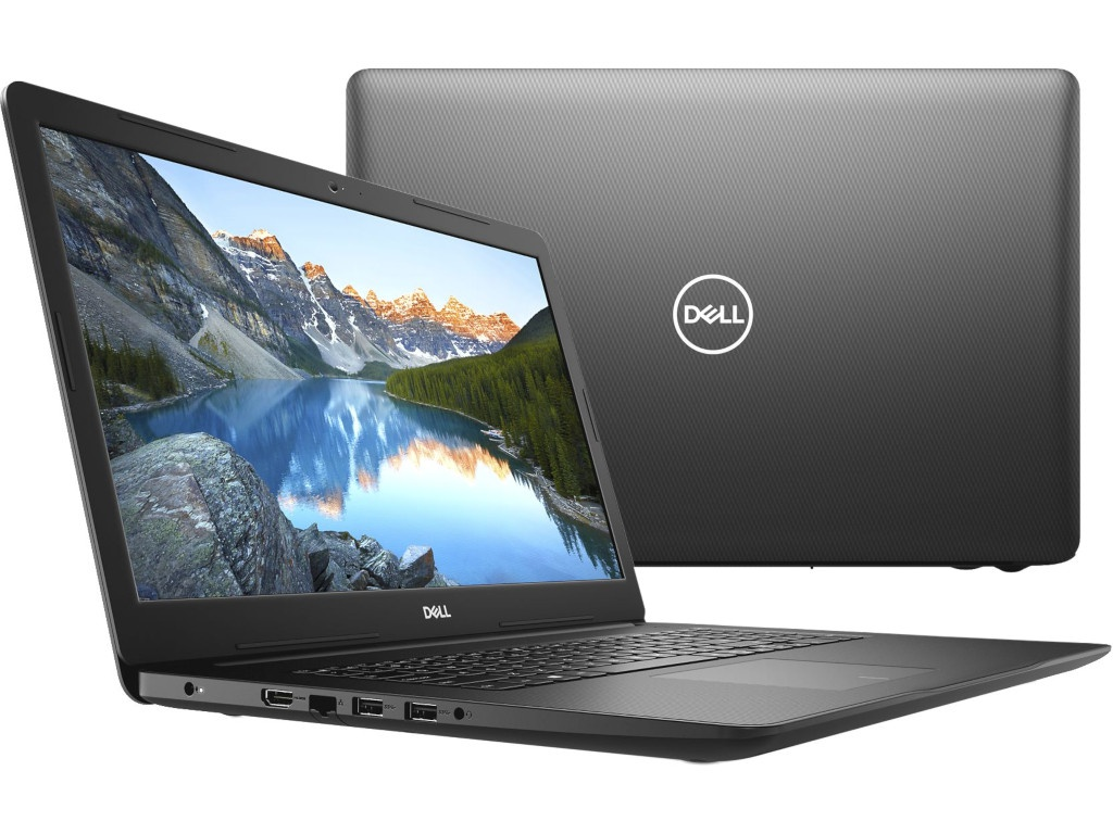 Ноутбук Dell Inspiron 3781 Black 3781-6761 (Intel Core i3-7020U 2.3 GHz/4096Mb/1000Gb/DVD-RW/AMD Radeon 520 2048Mb/Wi-Fi/Bluetooth/Cam/17.3/1920x1080/Linux)