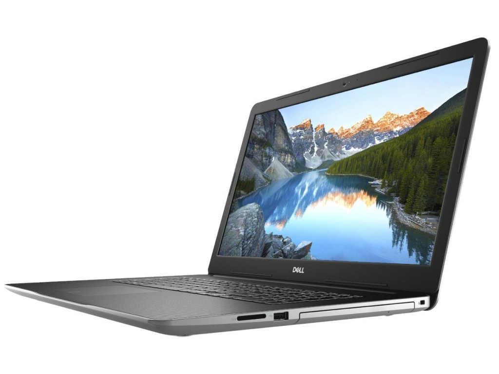 Ноутбук Dell Inspiron 3782 Silver 3782-1727 (Intel Pentium N5000 1.1 GHz/4096Mb/1000Gb/DVD-RW/Intel HD Graphics/Wi-Fi/Bluetooth/Cam/17.3/1600x900/Linux) системный блок dell optiplex 3050 sff i3 6100 3 7ghz 4gb 500gb hd620 dvd rw linux клавиатура мышь черный 3050 0405