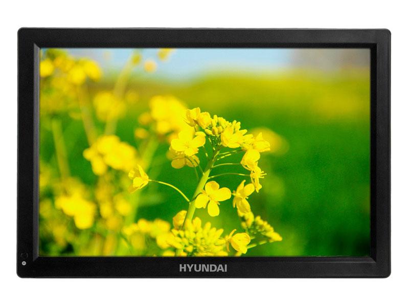 Медиаплеер Hyundai H-LCD1400 Black