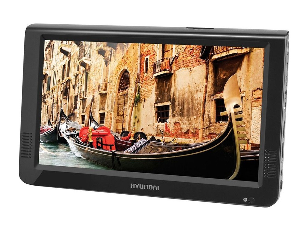 Медиаплеер Hyundai H-LCD1200 Black