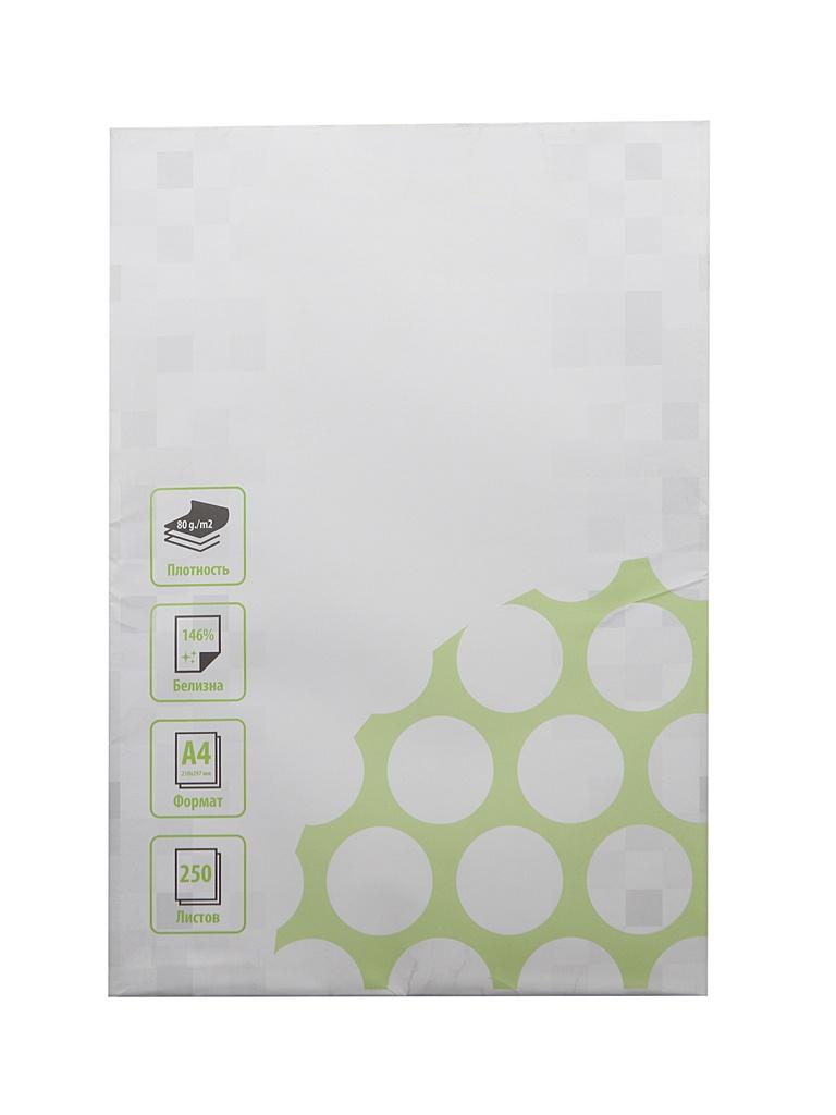 Бумага Cactus A4 80g/m2 250 листов CS-OP-A480250