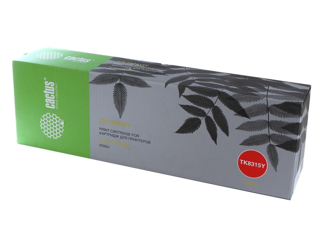 Картридж Cactus CS-TK8315Y Yellow для Kyocera FS-Taskalfa-2550CI