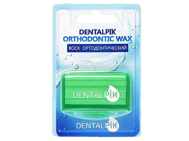Воск для брекетов Dentalpik Orthodontic Wax Яблоко