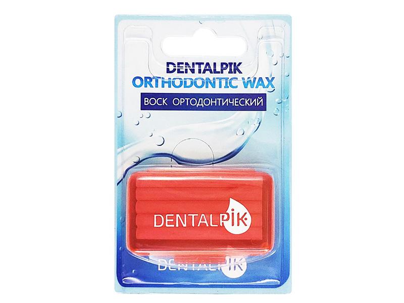 Воск для брекетов Dentalpik Orthodontic Wax Клубника