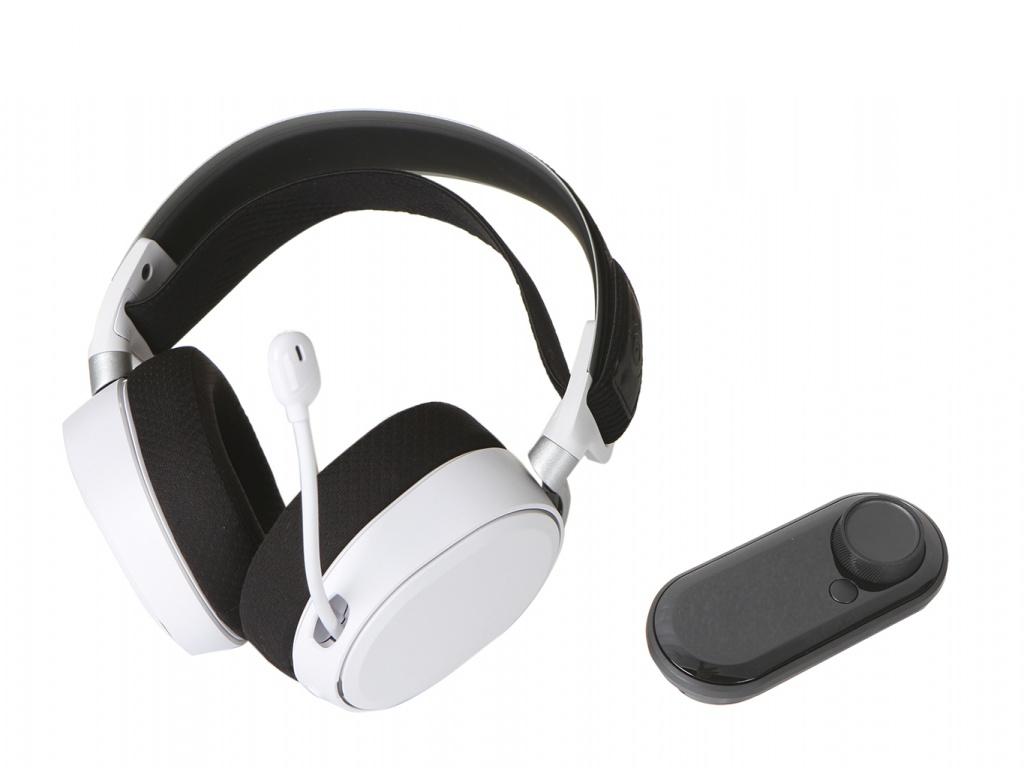 лучшая цена SteelSeries Arctis Pro GameDAC White