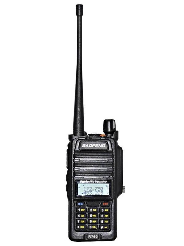 Рация Baofeng R760 Black аксессуары для раций baofeng usb walkie talkie 5r 5re baofeng usb charging cable
