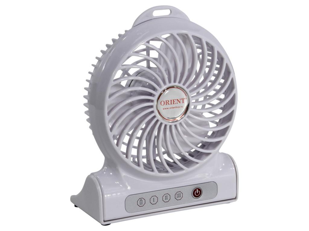 Вентилятор от USB Orient F2040 White 30798