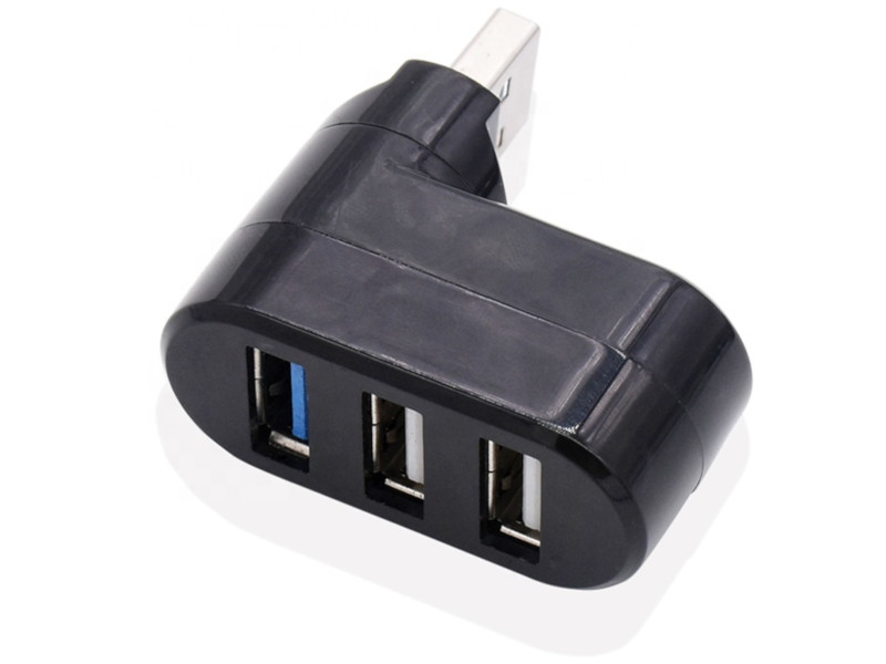 Хаб USB Orient CU-312 M - 3xUSB F Black 30797