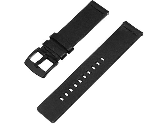 Аксессуар Ремешок Apres Mijobs for Amazfit Bip Leather Strap Black z4 smart watch leather strap black