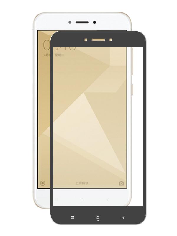 Аксессуар Защитное стекло CaseGuru для Xiaomi Redmi 4x \ Go Glue Full Screen 0.33mm Black 103325