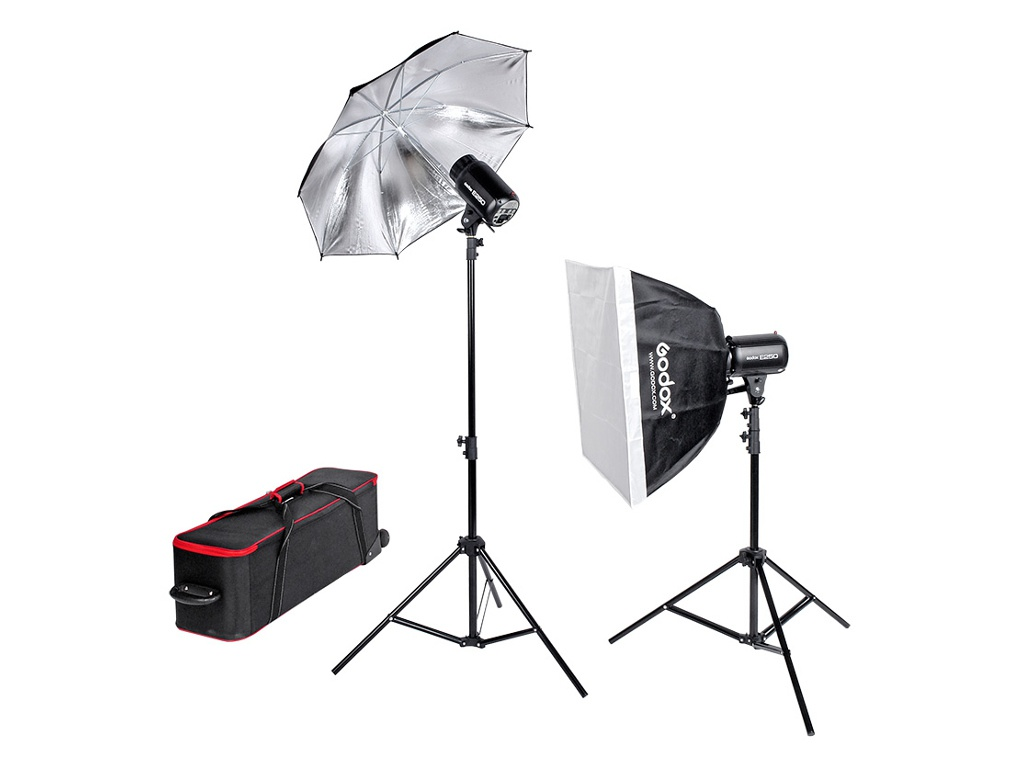 Комплект студийного света Godox E250-F 26732