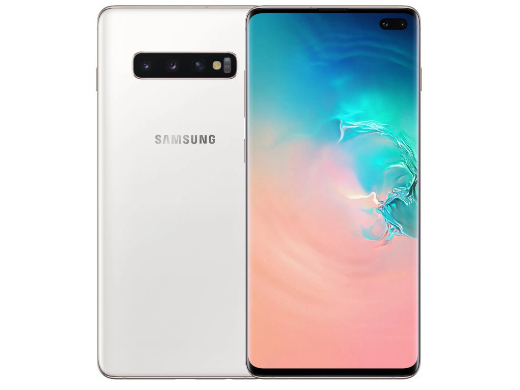 Сотовый телефон Samsung Galaxy S10+ 8/512GB Ceramic White сотовый телефон samsung sm a310f ds galaxy a3 2016 white