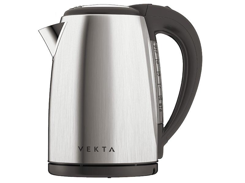 Чайник VEKTA KMS-1702 Steel-Black