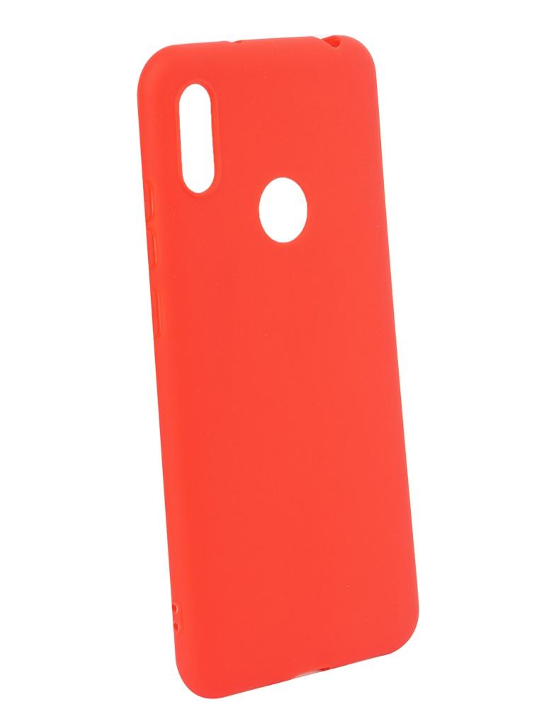 Аксессуар Чехол iBox для Honor Y6 2019 Ultimate Red УТ000017724 аксессуар чехол для honor 8c ibox soft touch fresh red ут000016891